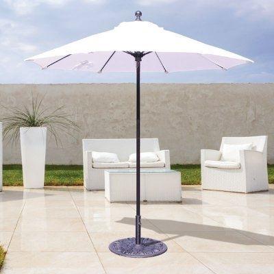 Galtech 7.5 Ft. Sunbrella Commercial Patio Umbrella – 725W 45 Within Preferred Commercial Patio Umbrellas Sunbrella (Gallery 11 of 15)