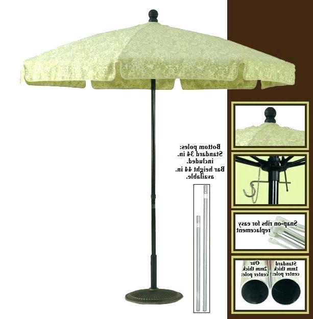 Garden Table Umbrellas Patio Type Unique Outdoor Umbr – Thedailylist Pertaining To Well Liked Unusual Patio Umbrellas (View 5 of 15)