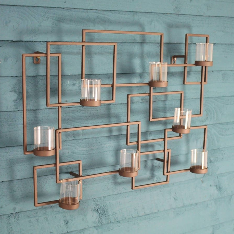 Garden Wall Art Pertaining To Most Current This Stylish Metal Wall Art Looks Equally Elegant Hung In The Home (View 8 of 15)