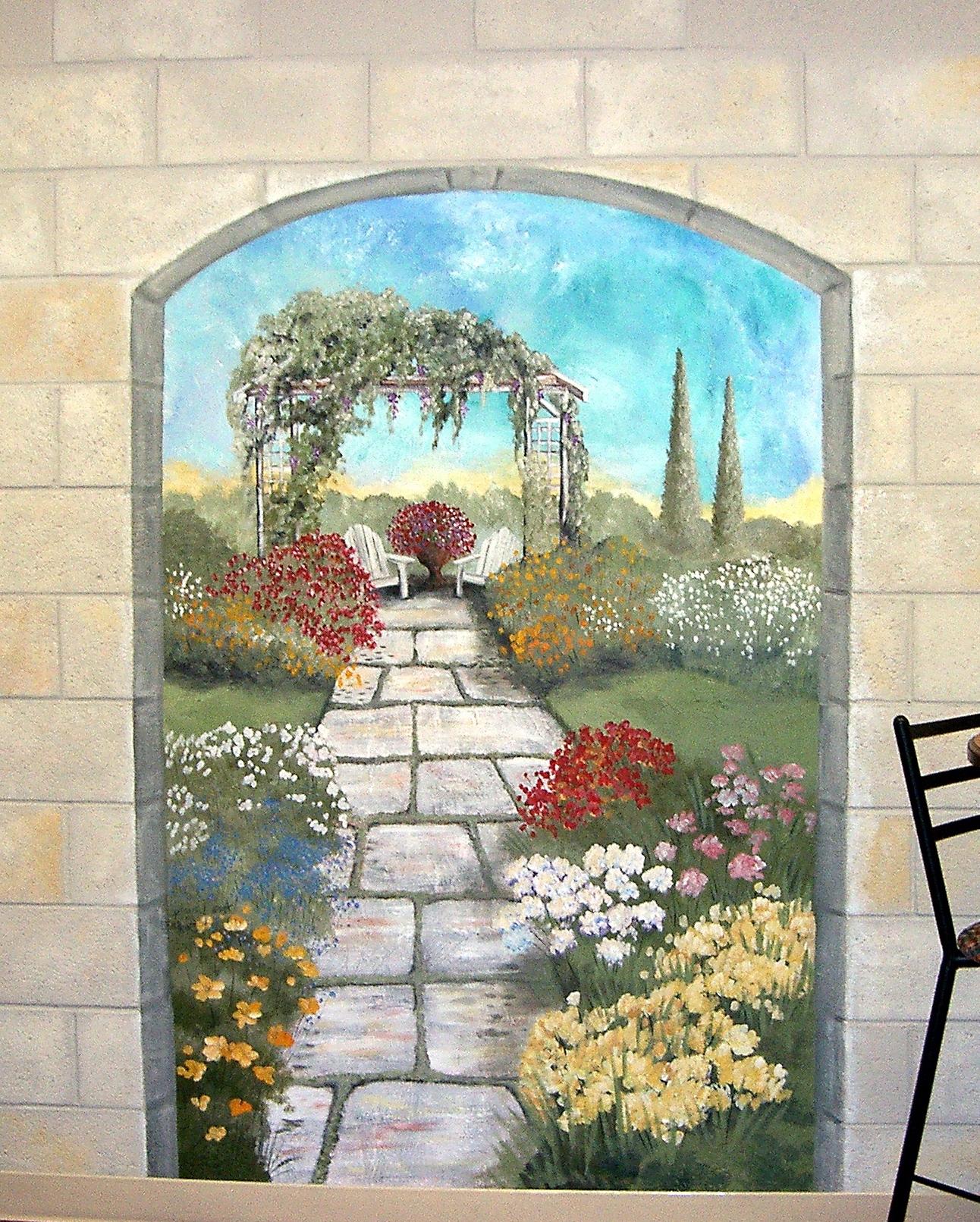Garden Wall Art pertaining to Well-known Elegant Garden Wall Decor – Insdecor