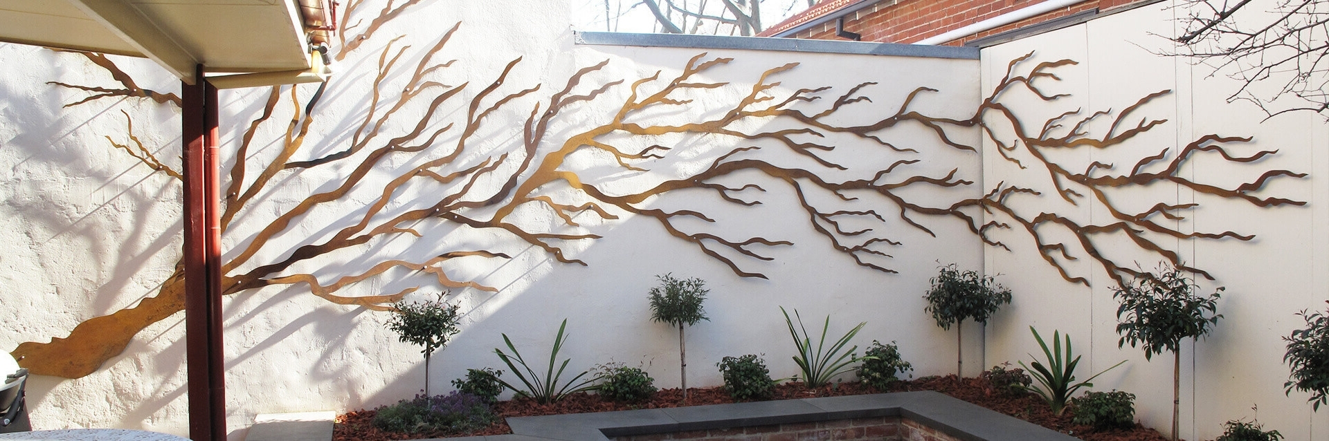Garden Wall Art With Regard To Most Recent Garden Wall Decoration Ideas Uk Wall Decor Ideas Inspiration Of (View 7 of 15)