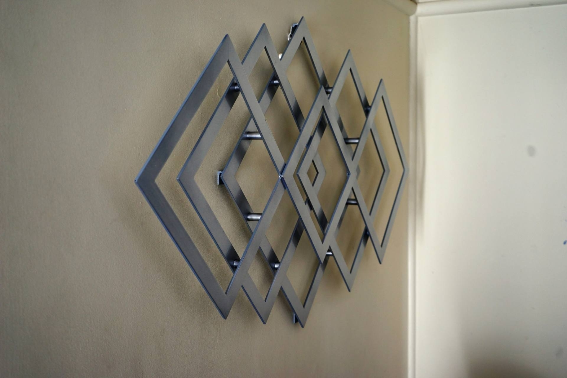 Geometric Metal Wall Art Regarding Most Recently Released Saatchi Art: Geometric Metal Wall Art Sculpturealdo Milin (View 4 of 15)