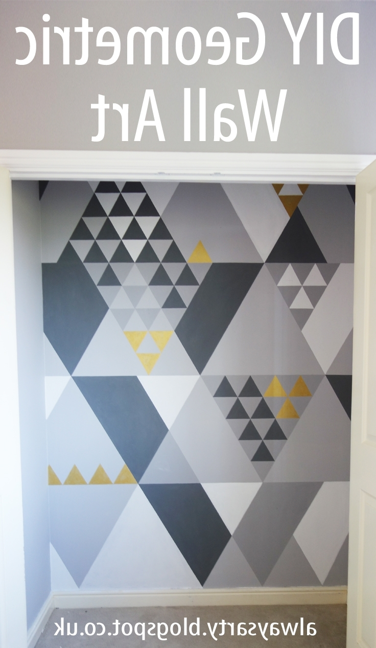 Geometric Wall Art With Regard To Newest Always Arty: Geometric Wall Art (Gallery 8 of 15)
