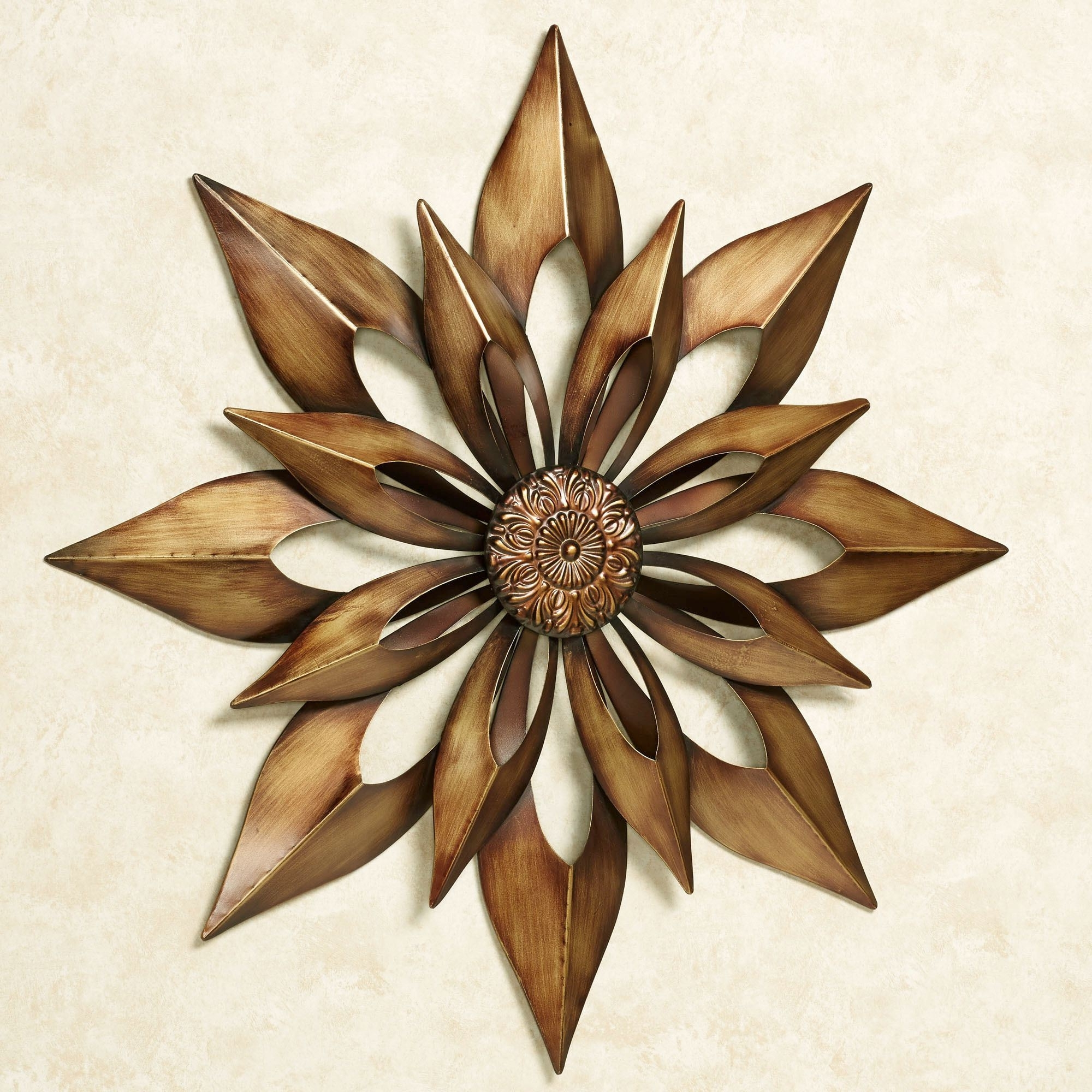 Gold Metal Wall Art For Preferred Starburst Metal Wall Art (View 6 of 15)