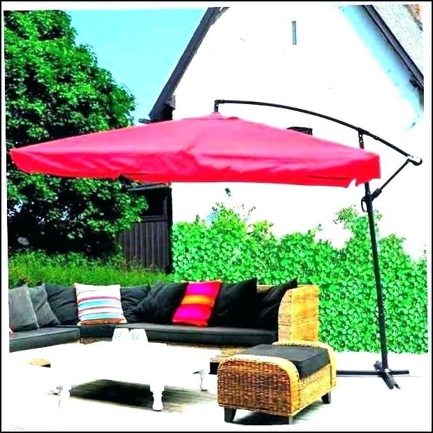 Good Patio Umbrellas At Walmart And Shade Umbrellas 9 Patio Umbrella With 2018 Sunbrella Patio Umbrellas At Walmart (View 6 of 15)