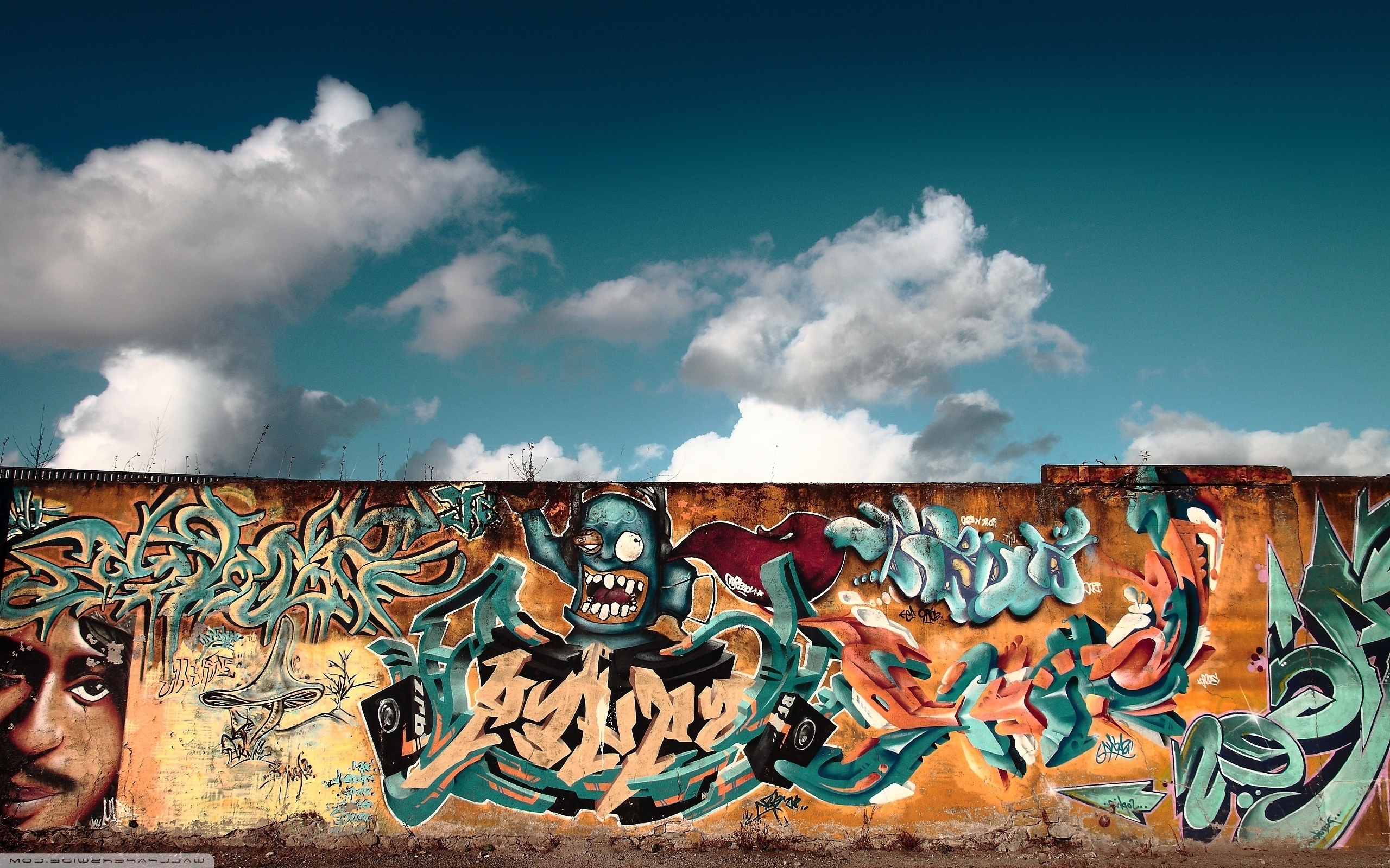 Graffiti Wall Art ❤ 4K Hd Desktop Wallpaper For 4K Ultra Hd Tv Pertaining To Preferred Graffiti Wall Art (Gallery 8 of 15)