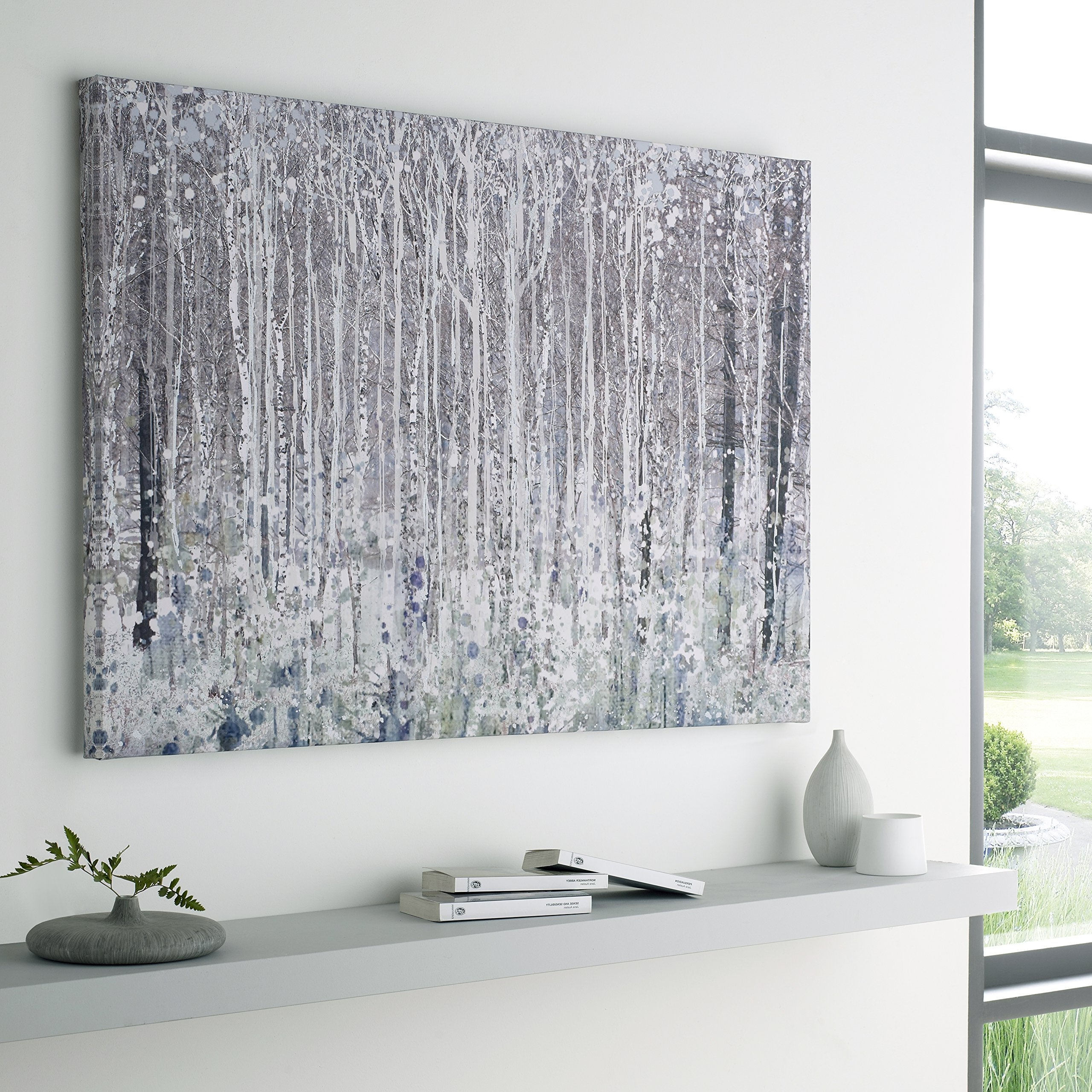 Gray Canvas Wall Art pertaining to Well known Large Canvas Wall Art: Amazon.co.uk