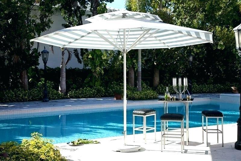 Gray Patio Umbrella Foot Umbrellas Riviera Commercial Ft Market Grey Within Well Known Grey Patio Umbrellas (Gallery 2 of 15)