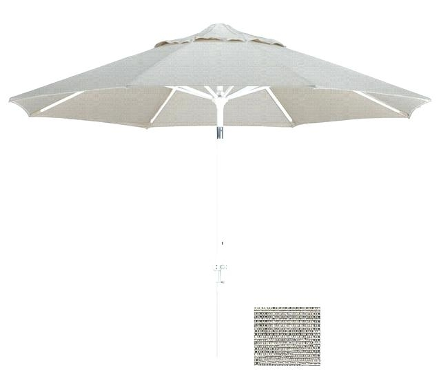 Green And White Patio Umbrella Gallery Photos Of Magnificent Outdoor Within Well Known Patio Umbrellas With White Pole (Gallery 5 of 15)
