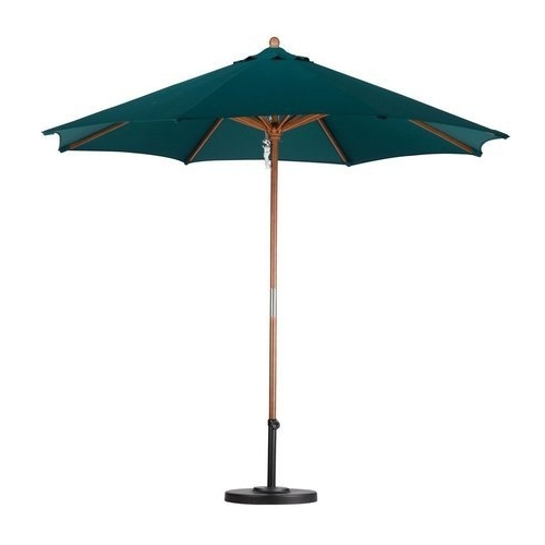 Green Patio Umbrellas Intended For Most Recent Green Outdoor Patio Umbrellas, Size: Customized, Rs 10000 /piece (View 8 of 15)