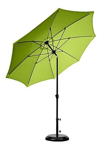 Green Patio Umbrellas With Fashionable Lime Green Patio Umbrella – Darcylea Design (Gallery 1 of 15)