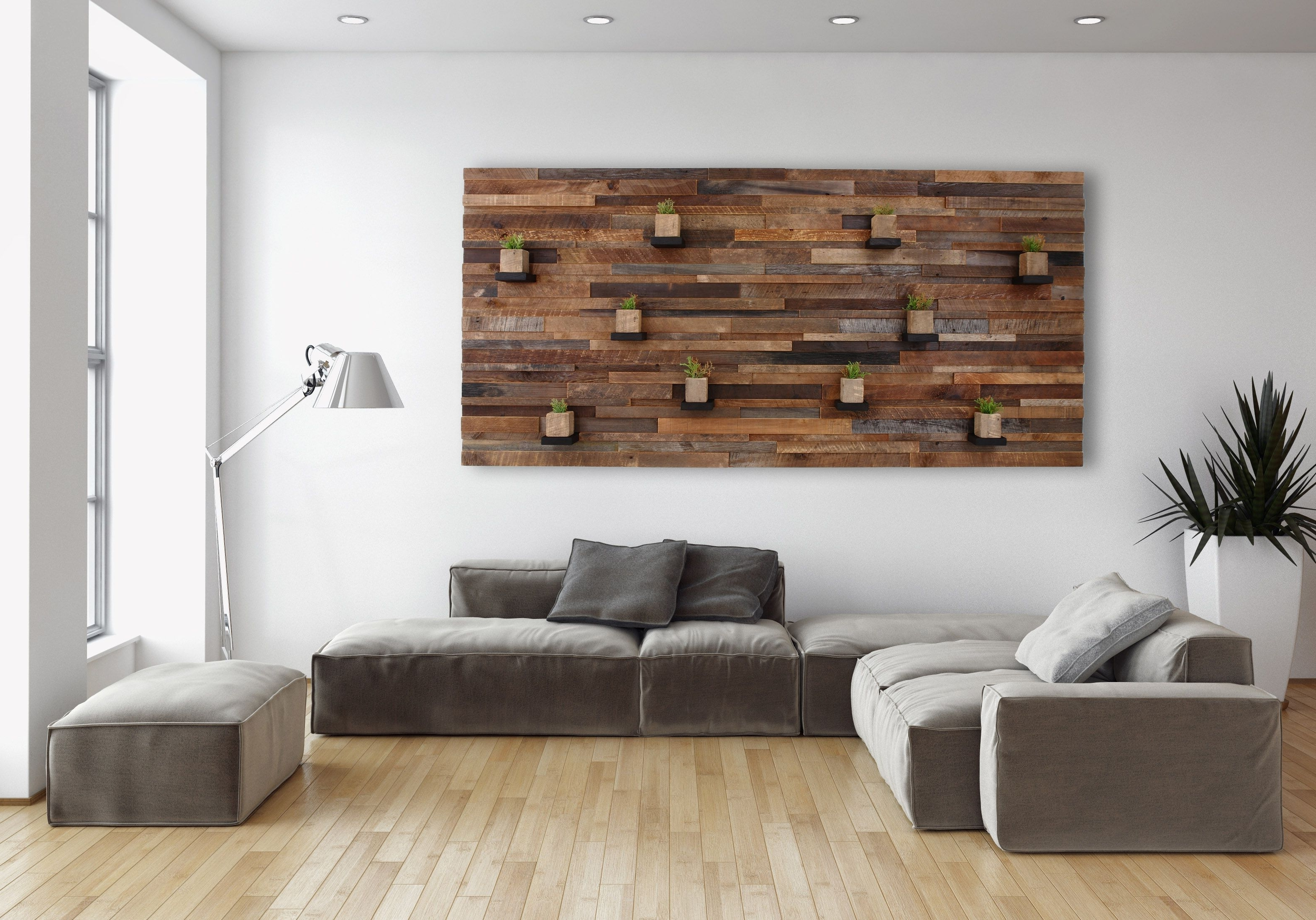 Hand Made Wood Wall Art With Floating Wood Shelves 84 Regarding Most Recently Released Personalized Wood Wall Art (Gallery 9 of 15)