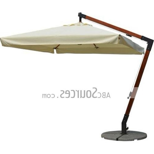 Hanging Patio Umbrellas With Well Liked Wholesale White Canopy Luxurious Hanging Patio Umbrellas Lc111711071 (Gallery 9 of 15)