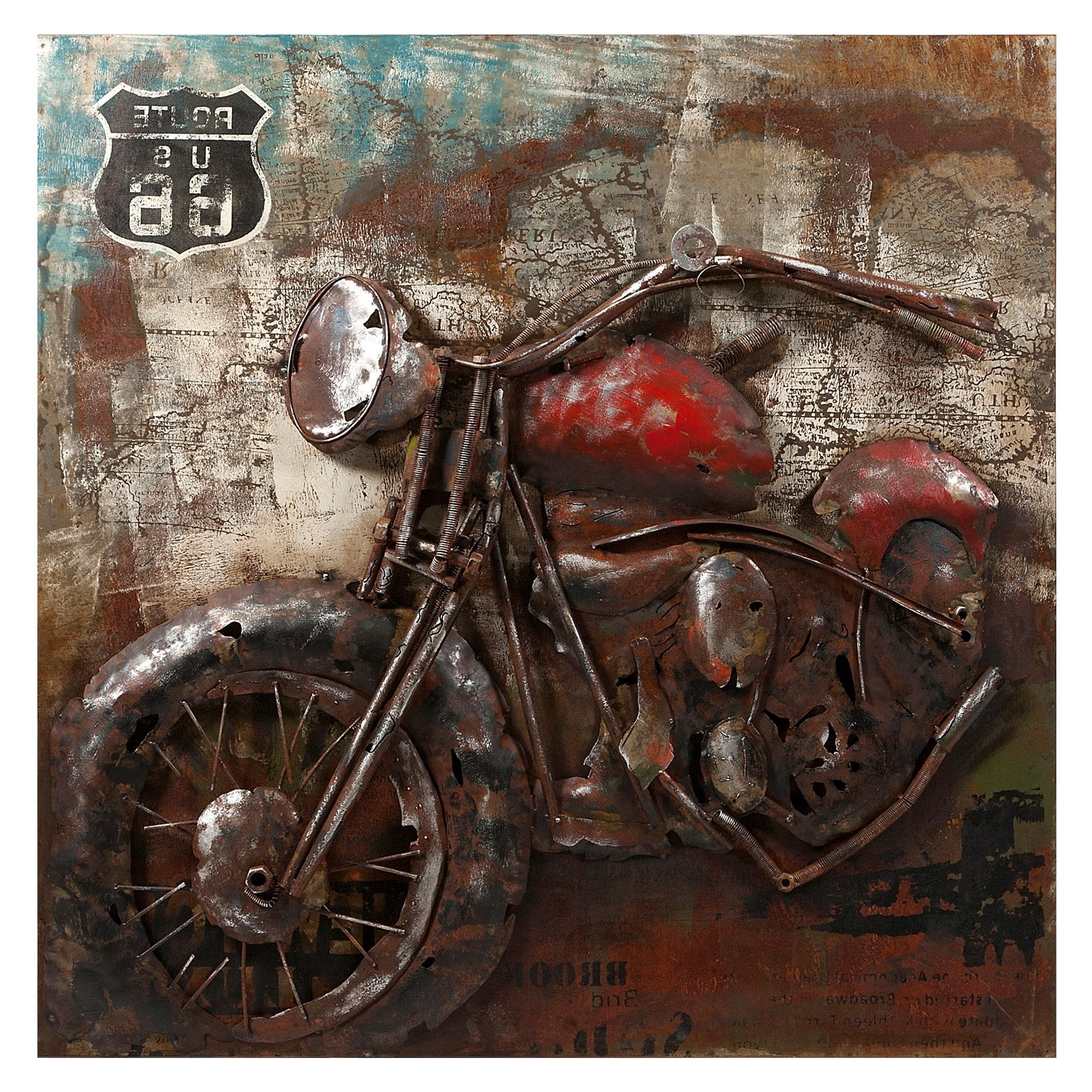 Hayneedle For Motorcycle Wall Art (View 6 of 15)