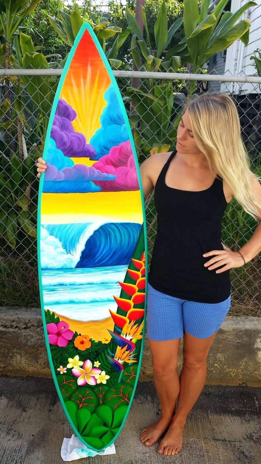 Hazlo Tú Regarding Surfboard Wall Art (View 2 of 15)
