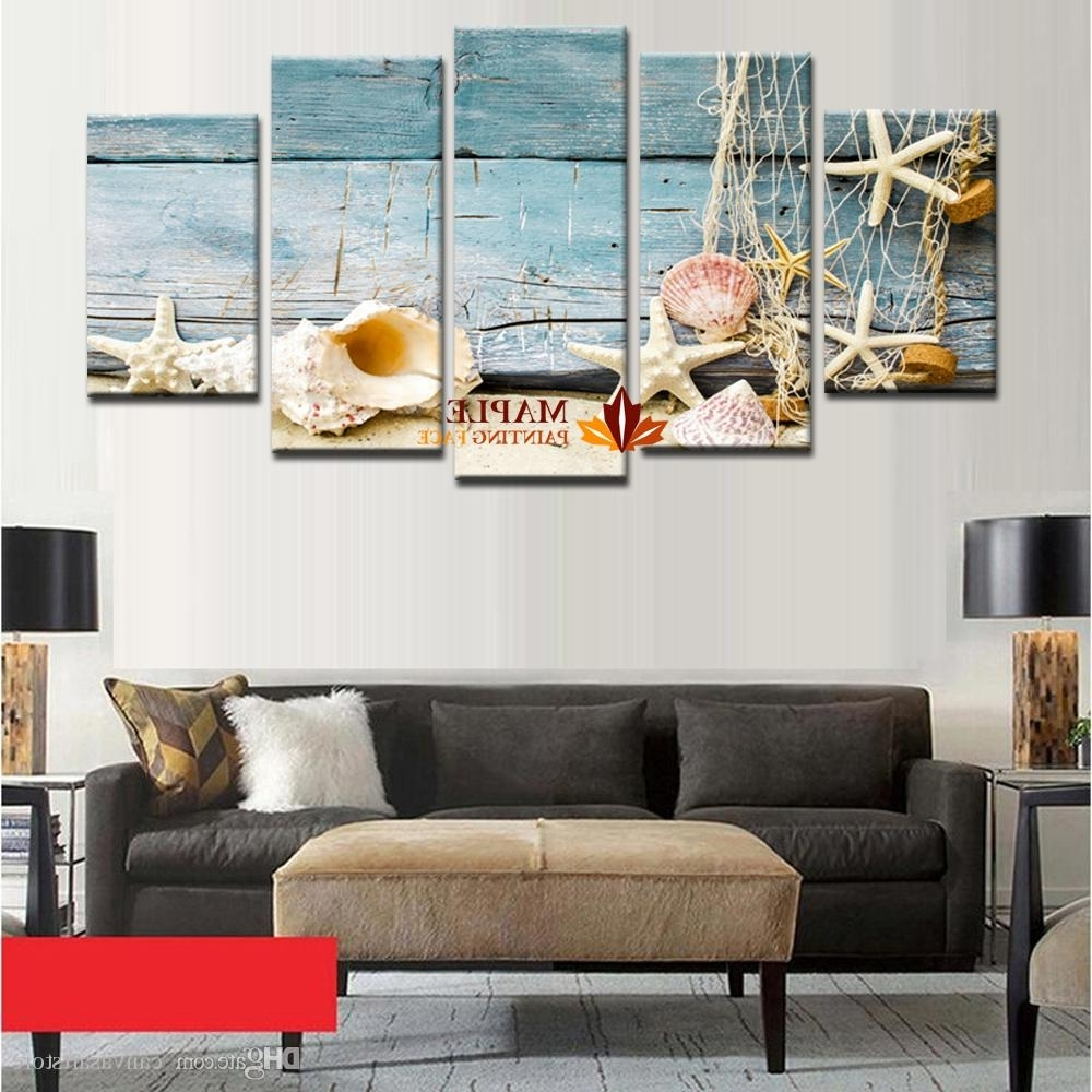 Hd Canvas Print Home Decor Wall Art Painting Picture Sea Shell Pertaining To Latest Cheap Large Wall Art (Gallery 8 of 15)