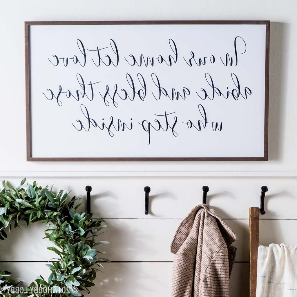 Hobby Lobby Wall Art In Trendy Stylish Wall Decor Trends To Diy Or Try! (Gallery 9 of 15)