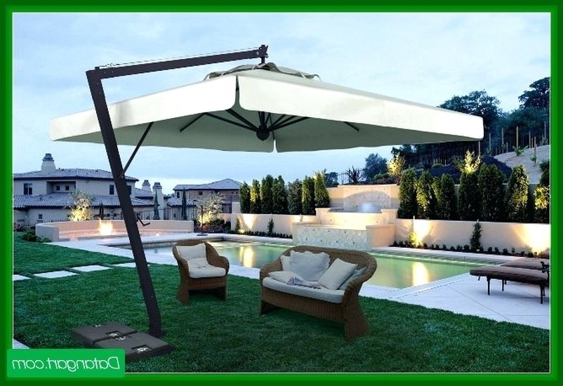 Home And Garden Patio Umbrella Latest Patio Furniture Umbrella Patio With Regard To Well Known Patio Umbrellas At Home Depot (View 4 of 15)