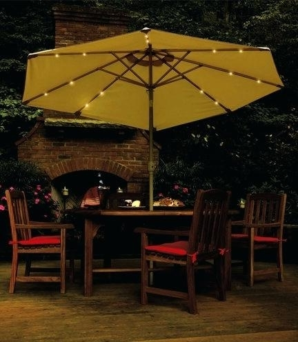 Home And Garden Patio Umbrella Latest Patio Furniture Umbrella Patio Within Most Popular Patio Umbrellas At Home Depot (View 10 of 15)