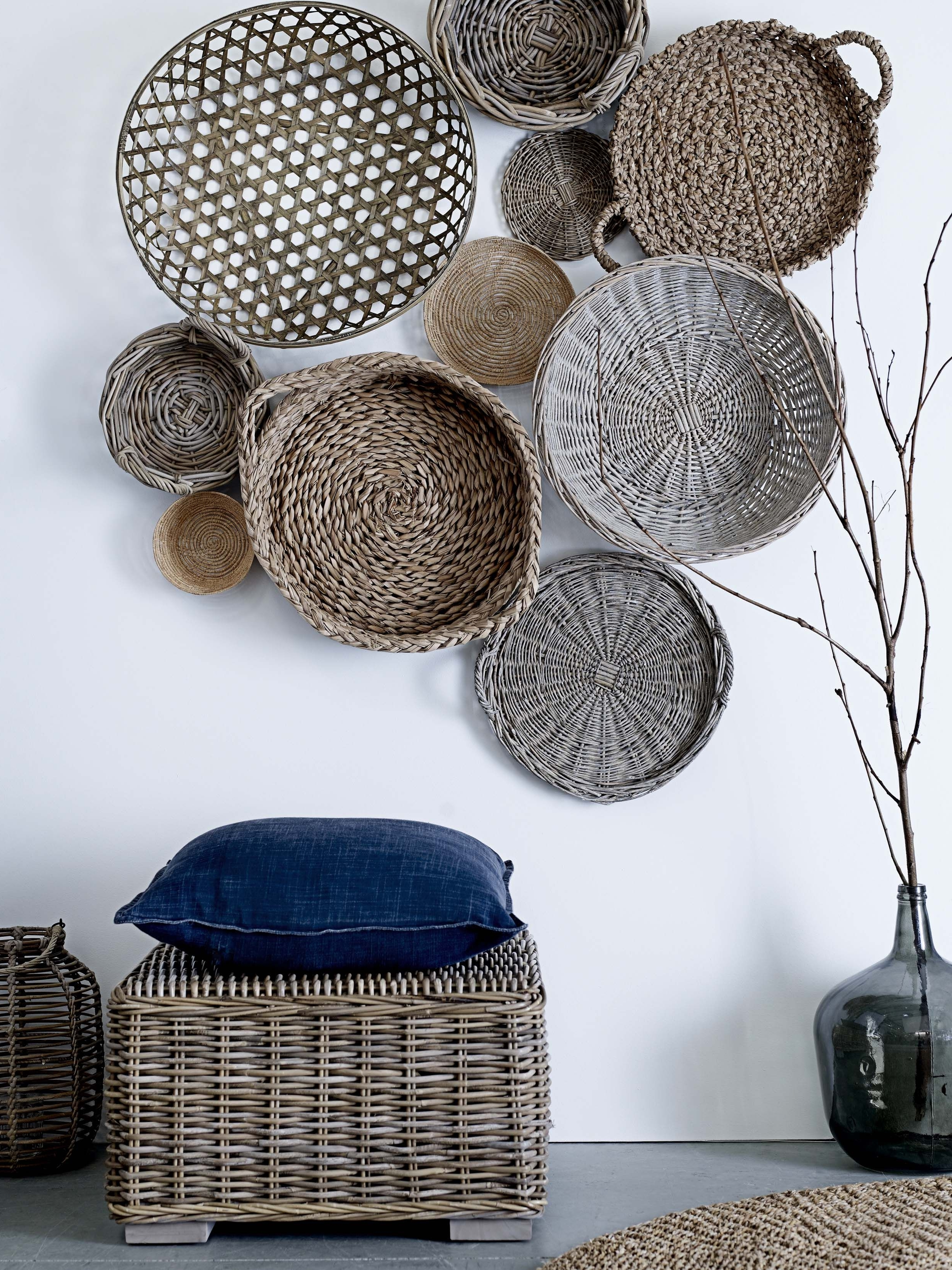 Home Decor And With Regard To Woven Basket Wall Art (View 2 of 15)