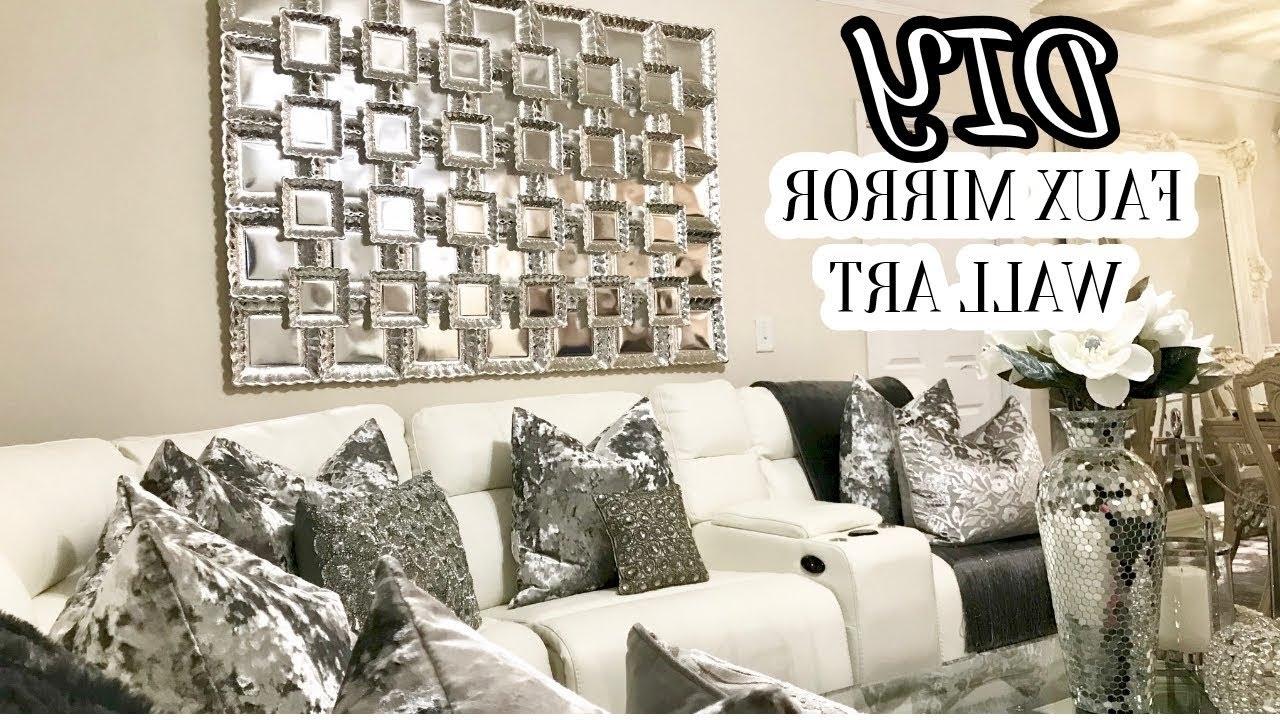 Home Decor Diy 2017 – Youtube With Popular Mirror Wall Art (View 5 of 15)