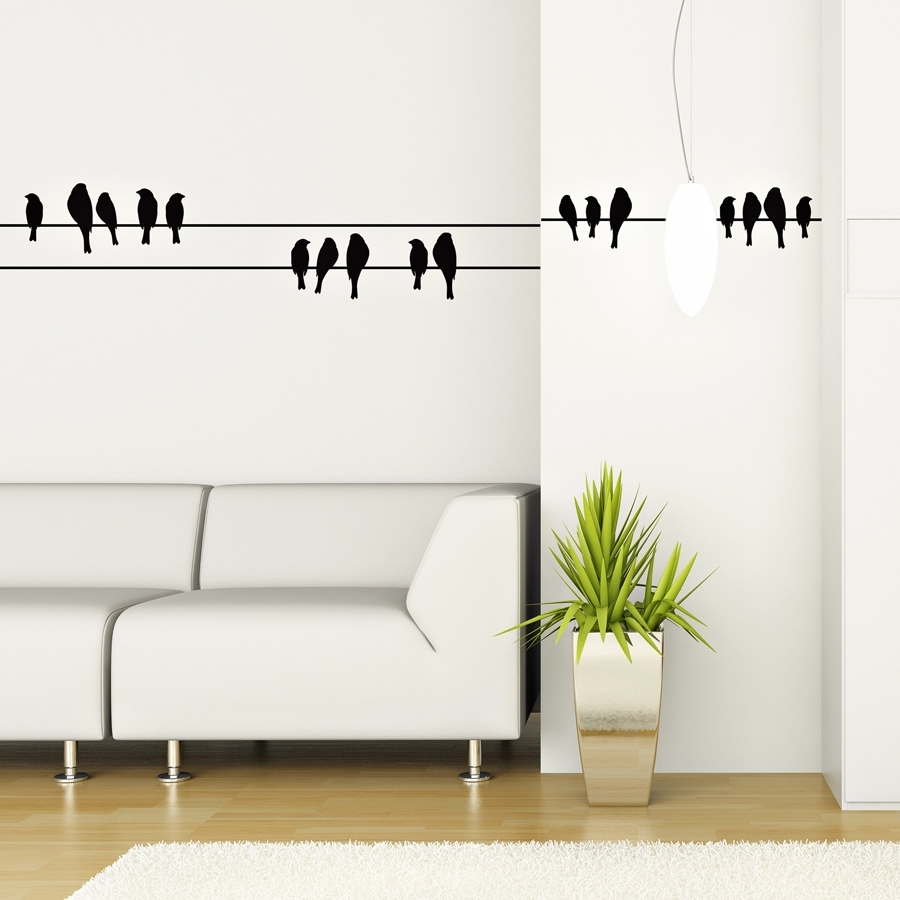 Home Wall Art In Trendy Home Decors Idea: Vinyl Wall Art (View 2 of 15)