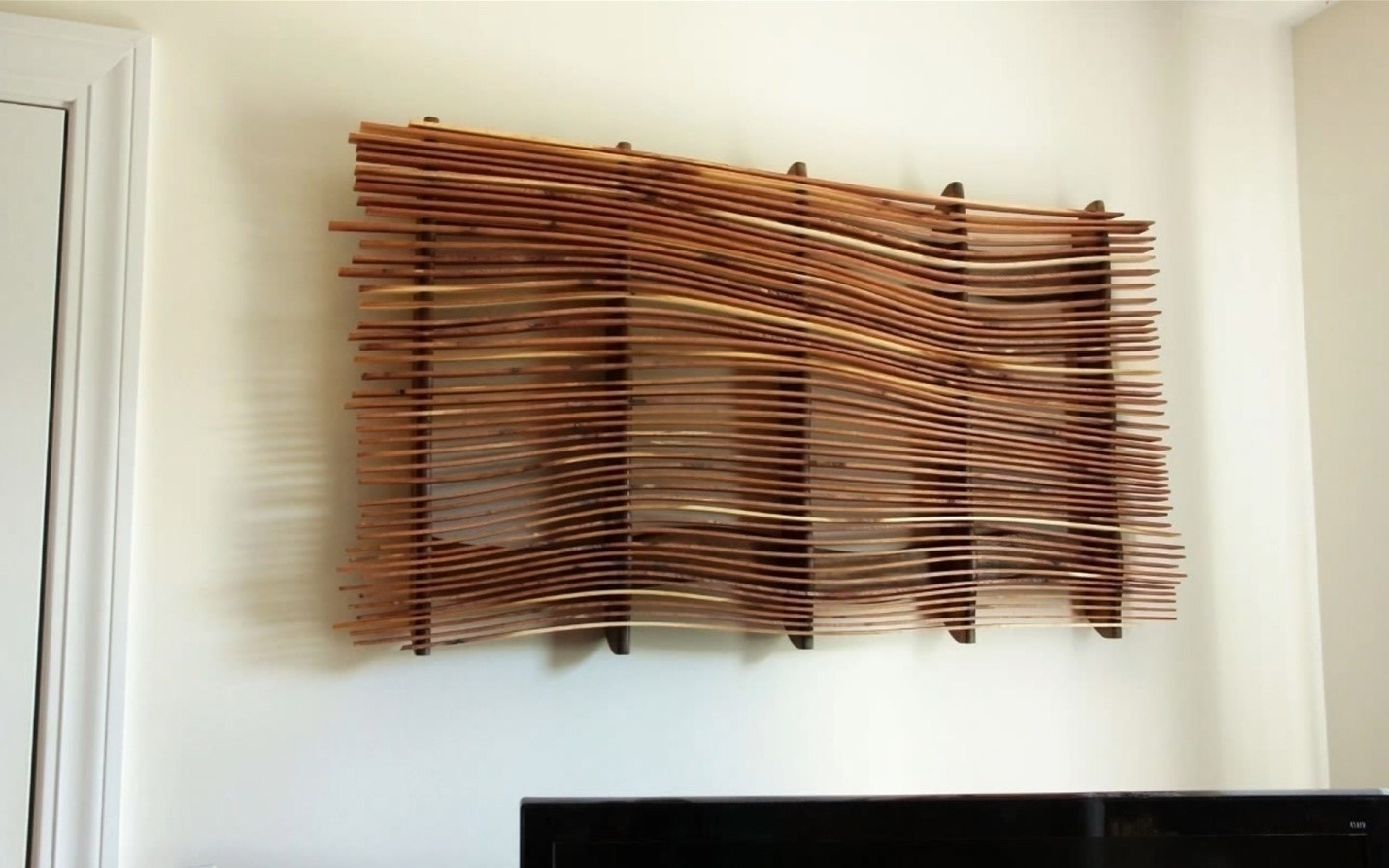 How To Make Wall Art From Scrap Wood