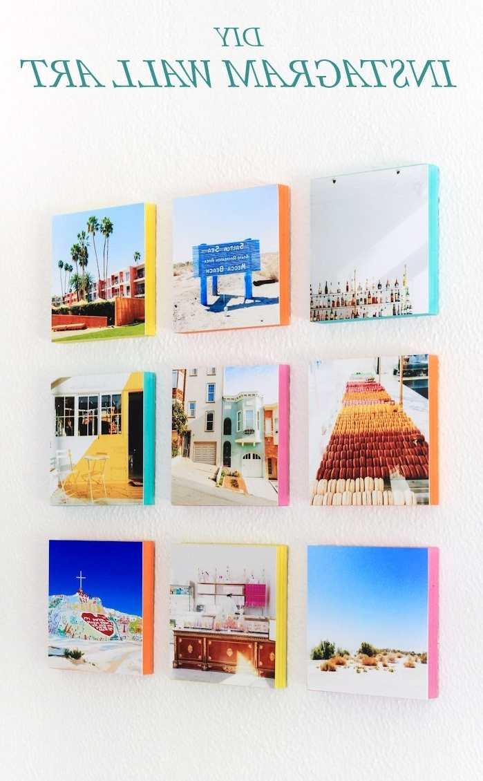 How To Turn Your Instagram Photos Into Wall Art (Gallery 4 of 15)