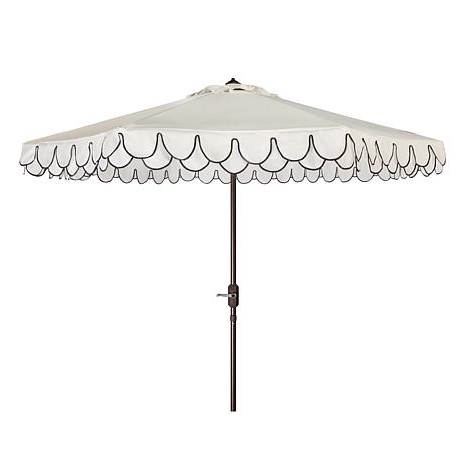 Hsn in Patio Umbrellas With Valance