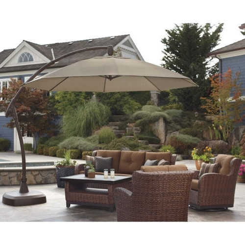Incredible Costco Patio Umbrella 1000 Images About New House With Regard To Popular Costco Cantilever Patio Umbrellas (View 8 of 15)
