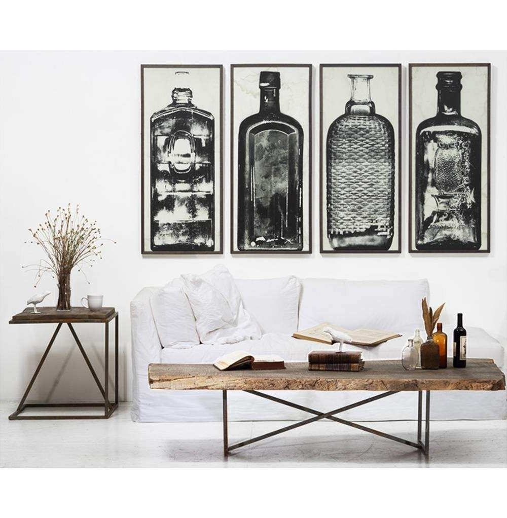 Industrial Wall Art pertaining to Most Current Art Wall Lovely Wall Art Designs Industrial Wall Art Bottle