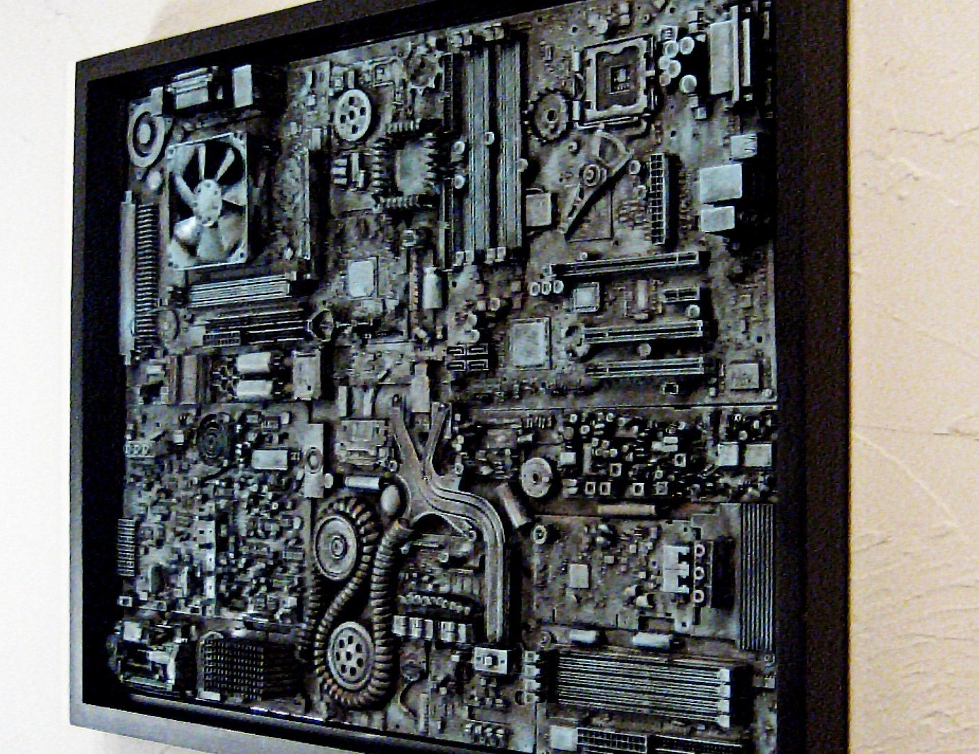 Industrial Wall Art Pertaining To Trendy Industrial Wall Art. Big Wall Art 18X (View 6 of 15)