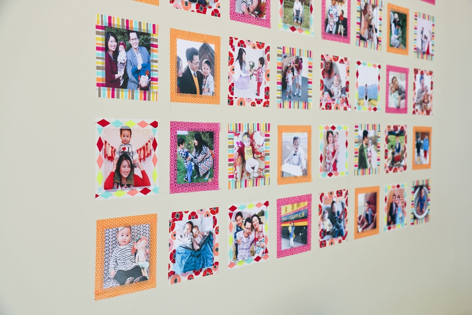 Instagram Wall Art With Washi Tape (Gallery 7 of 15)