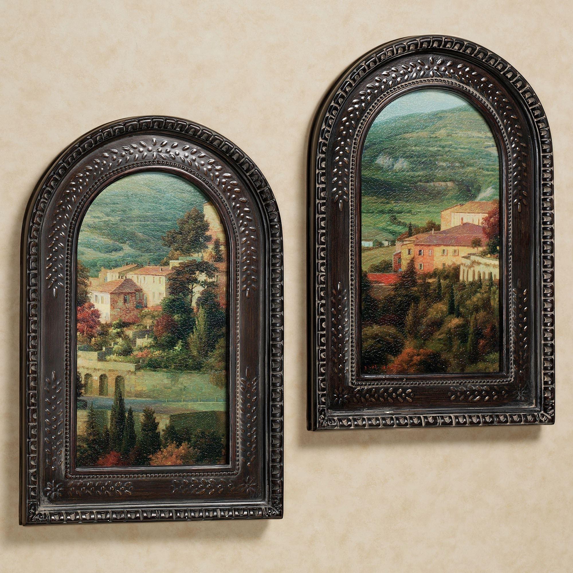 Italian Overlook Framed Wall Art Set Throughout Favorite Framed Wall Art (View 4 of 15)