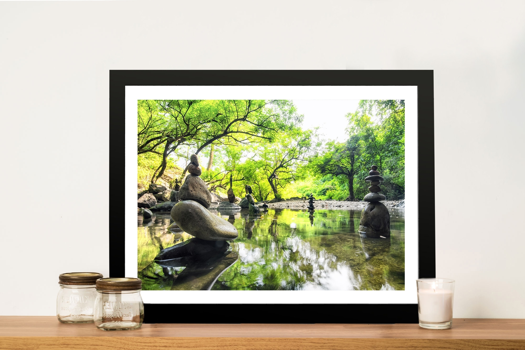 Japanese Garden Tranquility Canvas Print Adelaide With Most Current Japanese Wall Art (View 13 of 15)