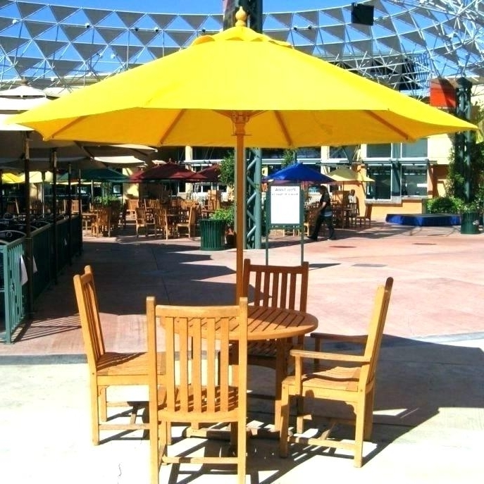 Jewel Patio Umbrellas For Latest Pool Umbrella Stand Square Umbrella Stand Free Standing Patio (Gallery 1 of 15)