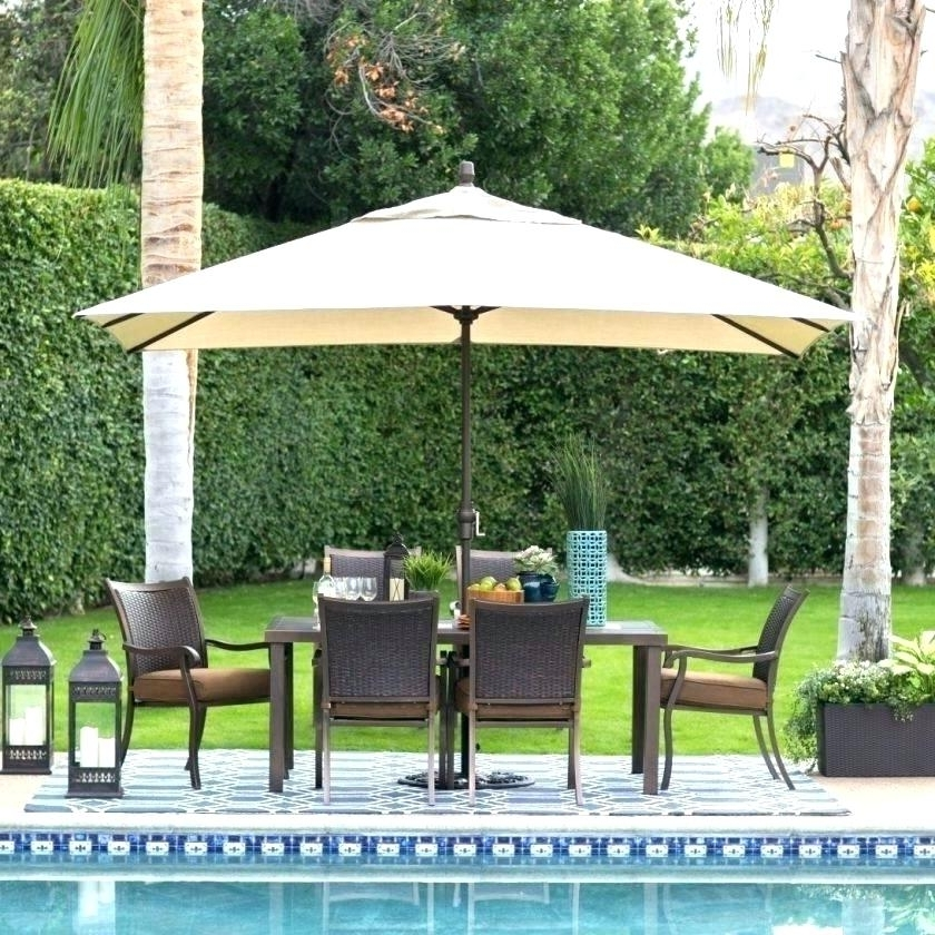 Jordan Patio Umbrellas Throughout Most Recently Released Windproof Patio Umbrella Terior – Patio Furniture (Gallery 12 of 15)