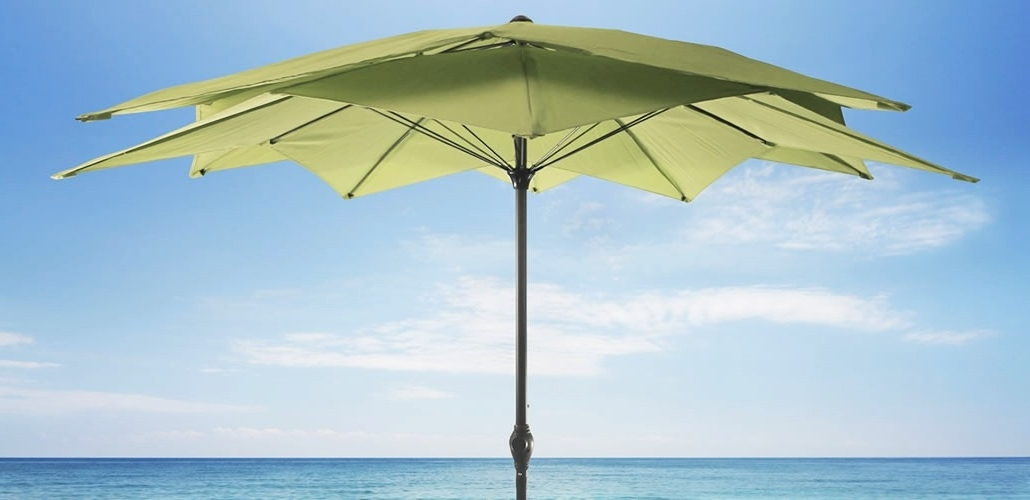 Jordan Patio Umbrellas With Regard To Current Patio Umbrellas – Jordan Manufacturing Company, Inc. (Gallery 3 of 15)
