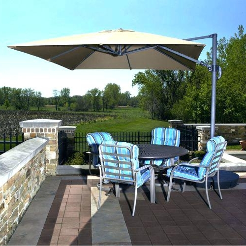 Jumbo Patio Umbrellas For Fashionable Giant Patio Umbrella For Medium Size Of Patio Umbrella Half Round (View 10 of 15)