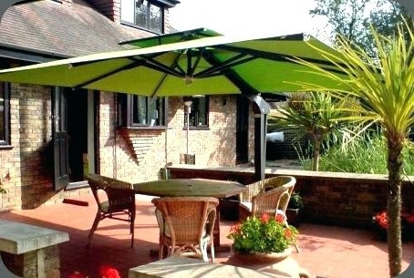 Jumbo Patio Umbrellas Within Famous Jumbo Patio Umbrellas – Windowshopper (Gallery 15 of 15)