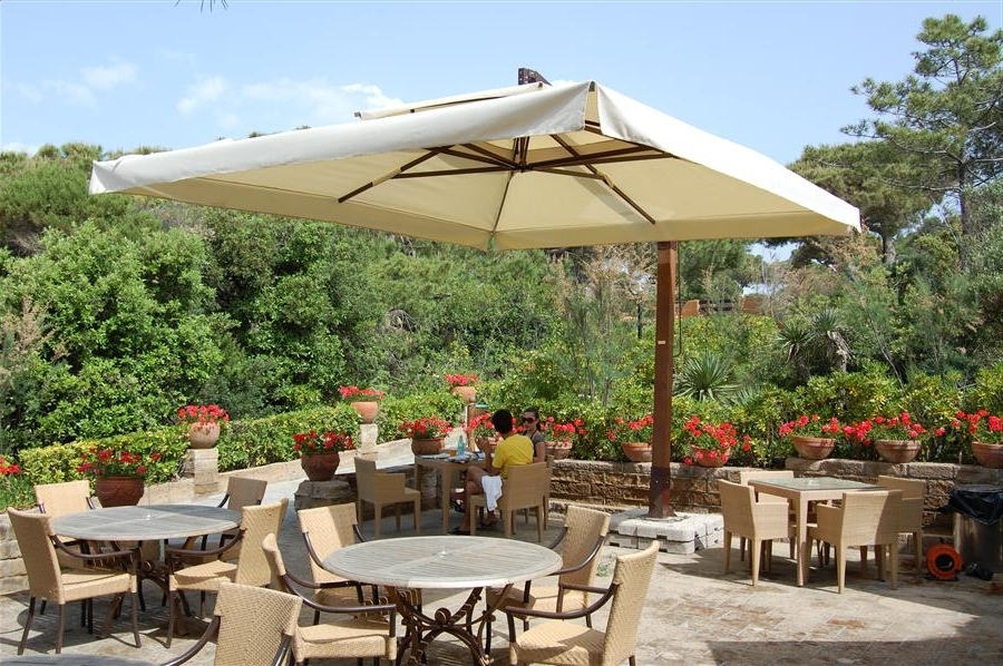 Jumbo Patio Umbrellas Within Fashionable Large Patio Umbrella All In Home Decor Ideas – Arelisapril (Gallery 12 of 15)