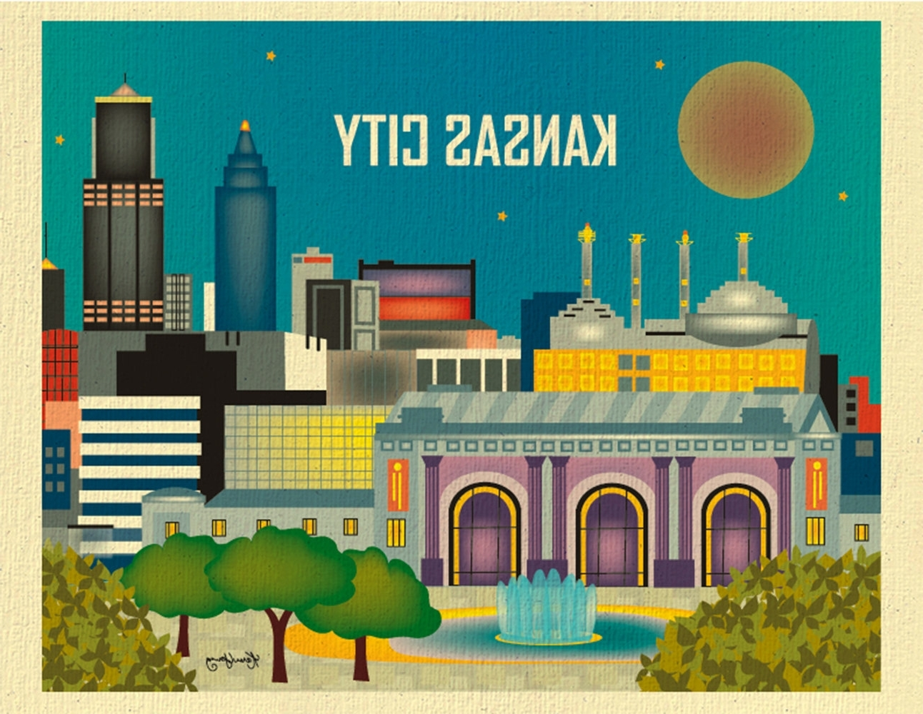 Kansas City Wall Art – Elitflat In Most Up To Date Kansas City Wall Art (View 3 of 15)