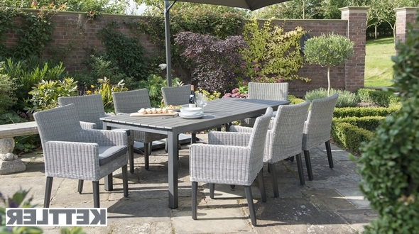 Kettler Patio Umbrellas Intended For Trendy Garden: Kettler Garden Furniture (View 6 of 15)