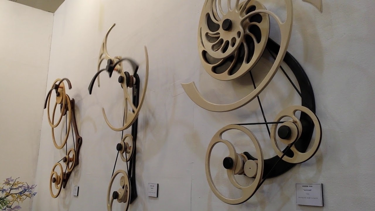 Kinetic Wall Art Inside Well Known Kinetic Wood Sculpture, Moving Art – Youtube (Gallery 4 of 15)