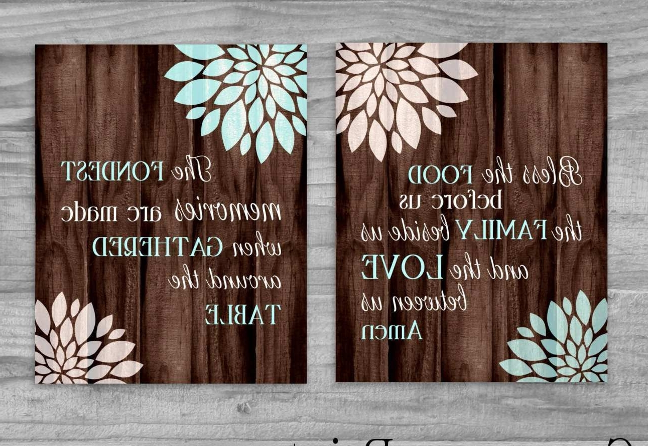 Kitchen Canvas Wall Art Best Of Kitchen Art Set Canvas Sale Bless Regarding Widely Used Kitchen Canvas Wall Art (View 3 of 15)