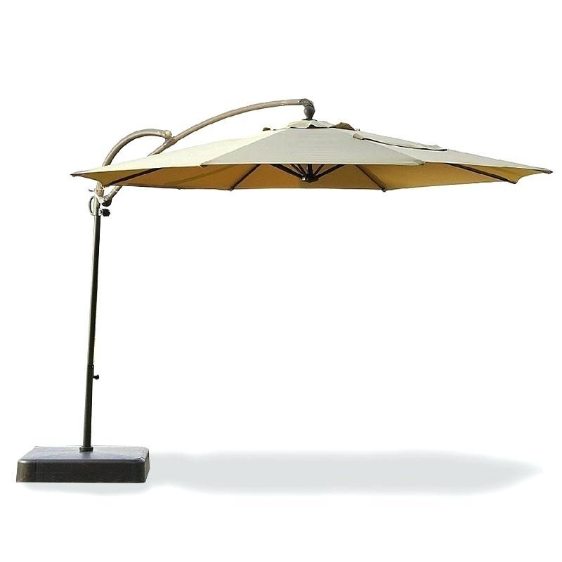 Kmart Patio Umbrellas Inside Most Popular Offset Patio Umbrella Kmart Patio Stones Canada Photo Concept (View 6 of 15)