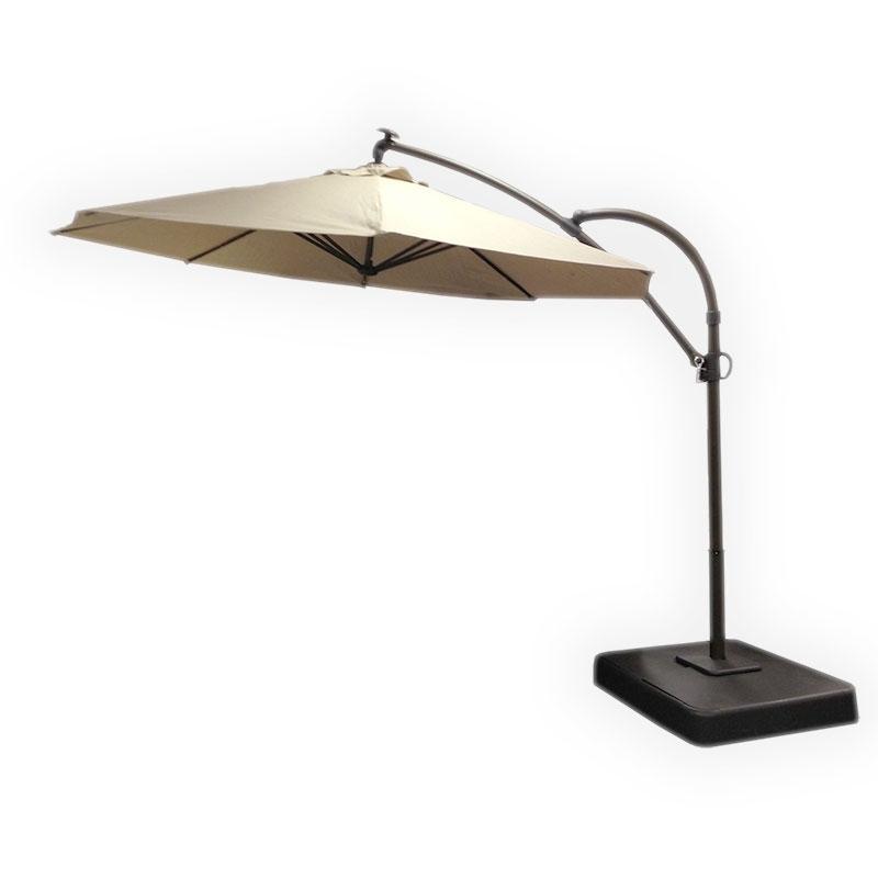 Kohls 2011 Solar Offset Umbrella Replacement Canopy Garden Winds With Regard To 2017 Kohls Patio Umbrellas (Gallery 1 of 15)