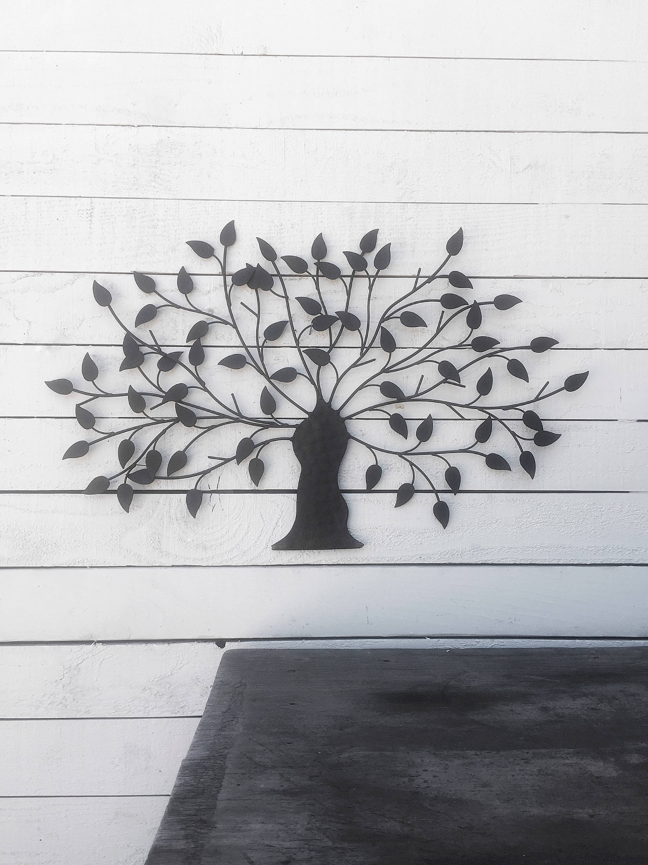 Kohl's Metal Wall Art regarding Trendy Metal Wall Art Decor Tree Unusual Kohls