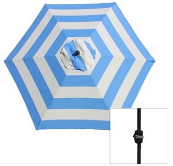 Kohls Patio Umbrellas Within Well Liked Kohls: Sonoma Patio Umbrella $43 – My Frugal Adventures (View 11 of 15)
