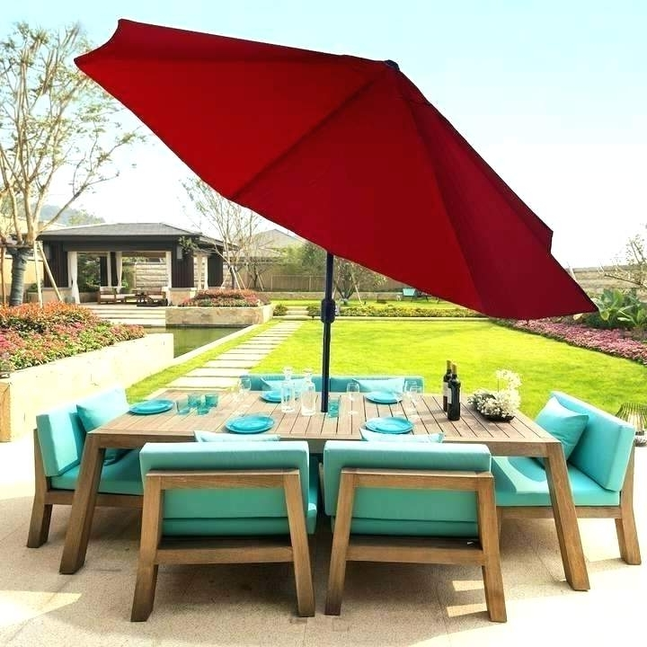 Kohls Sonoma Patio Umbrella Amazing Patio Umbrella And Outdoor Patio With Most Recent Kohls Patio Umbrellas (View 15 of 15)